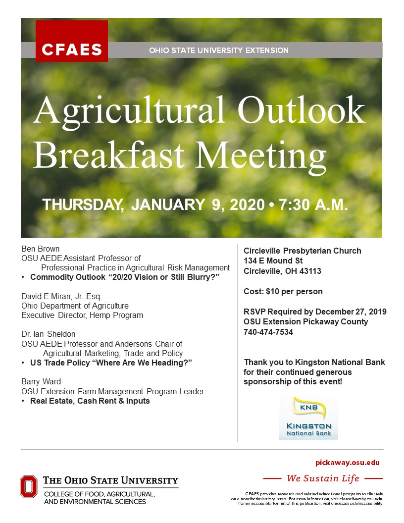 Ag Outlook Meeting